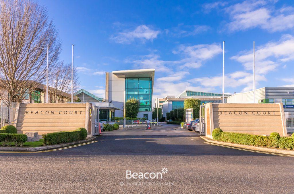 Beacon Court entrance on Bracken Road