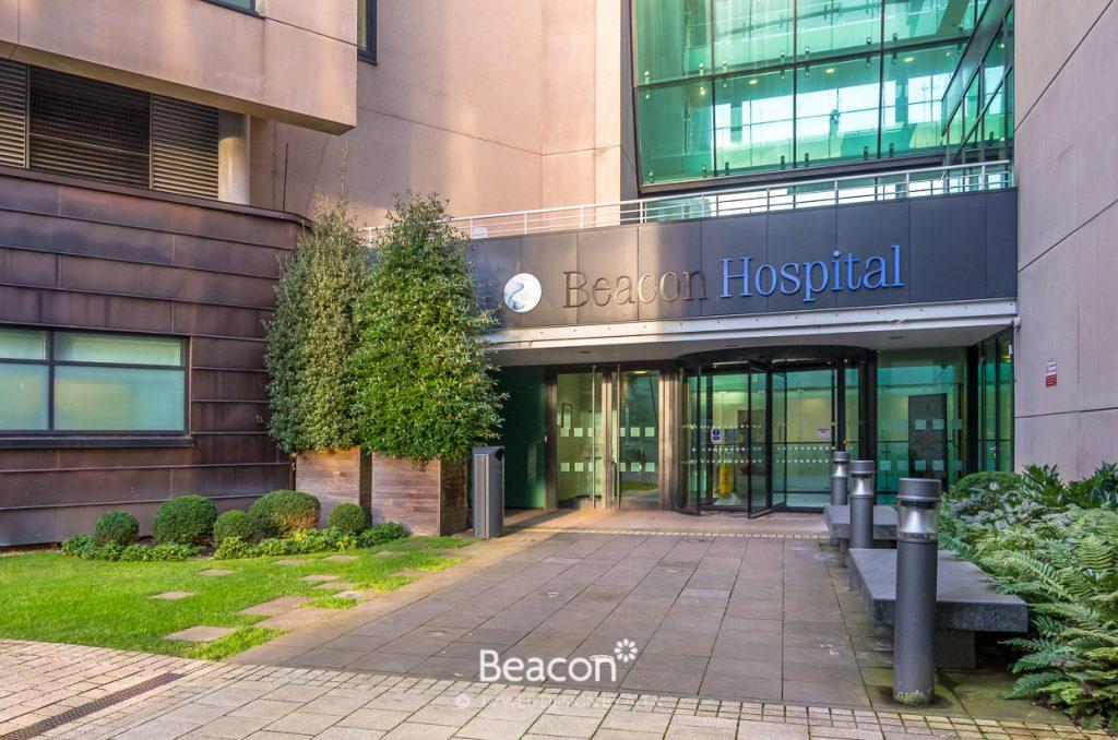 Beacon Hospital, Entrance